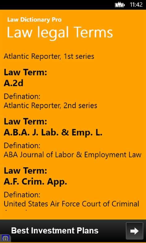 Get Law Dictionary Pro - Microsoft Store en-BD