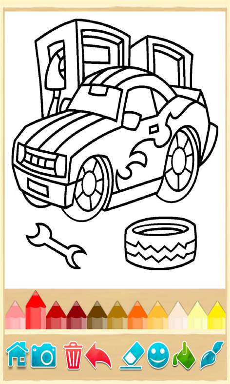 Get Coloring Book Cars Coloring Pages