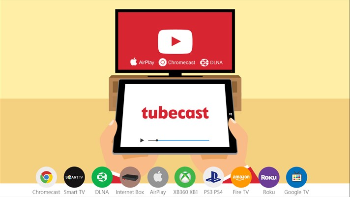 Tubecast youtube clientapp