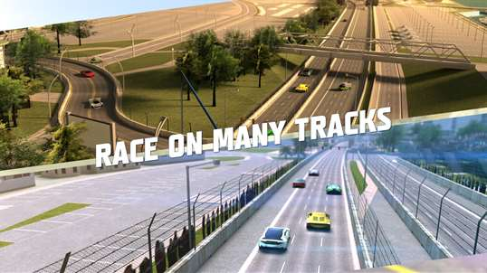 Racing 3D: Need For Race on Real Asphalt Speed Tracks screenshot 3