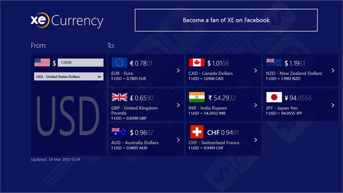 Get Xe Currency Microsoft Store