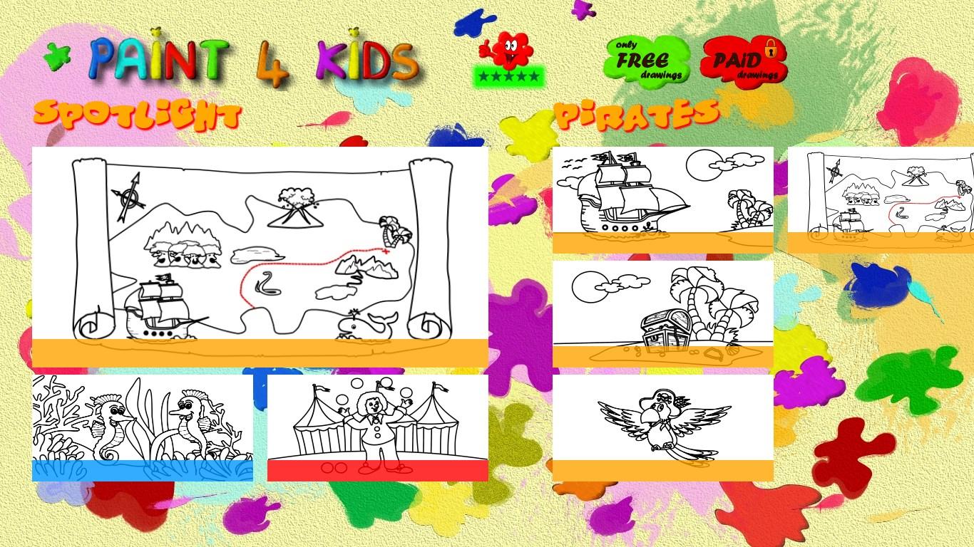 Paint 4 Kids