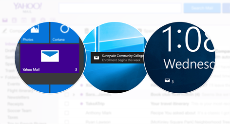 Yahoo Mail Screenshot