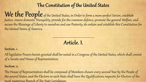 the history of the constitution party in the united states When the state conventions debate the proposed constitution, in 1788, it is argued by many that it does not provide sufficient safeguard for the the parties which form around the two men acquire appropriate names the term for hamilton's faction exists already he and two colleagues have written.