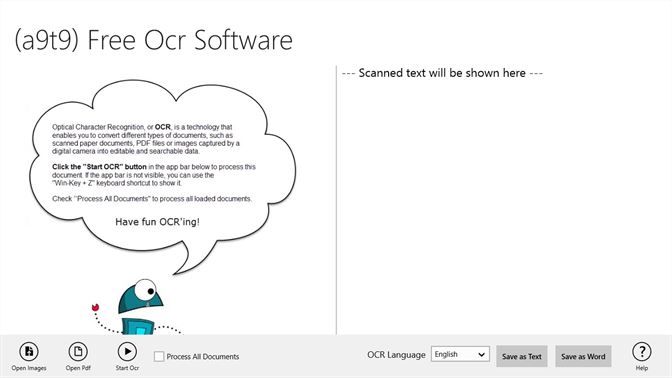 Get (a9t9) Free OCR Software - Microsoft Store
