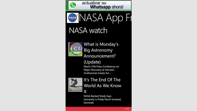 Get NASA App Free - Microsoft Store