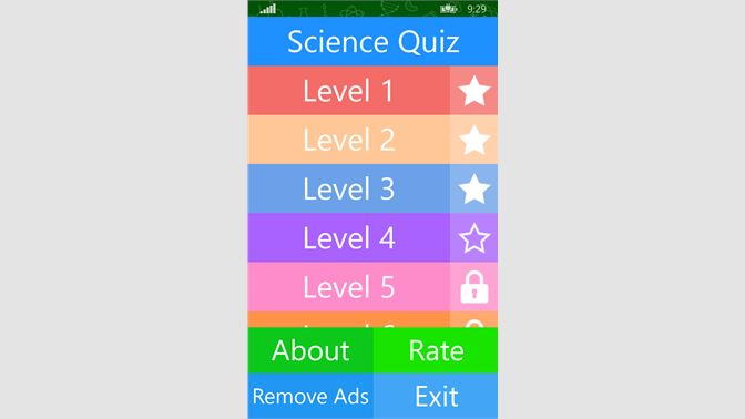 Get Best Free Science Quiz - Microsoft Store