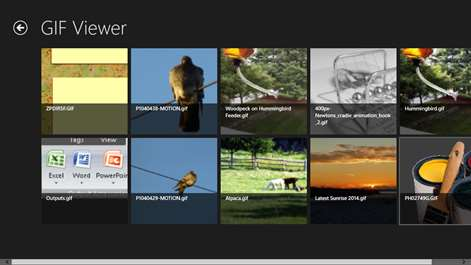 Get gif viewer microsoft store screenshot recent files negle Image collections