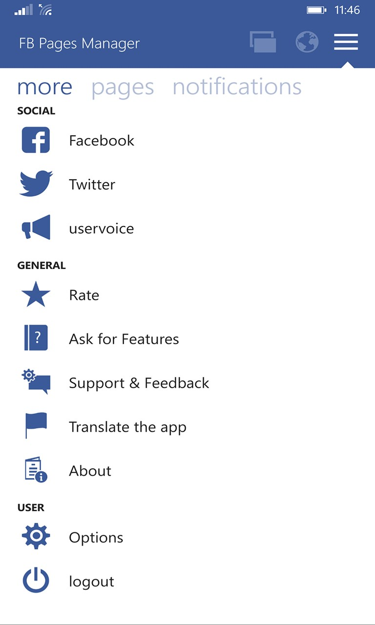 Pages Manager for Facebook Full