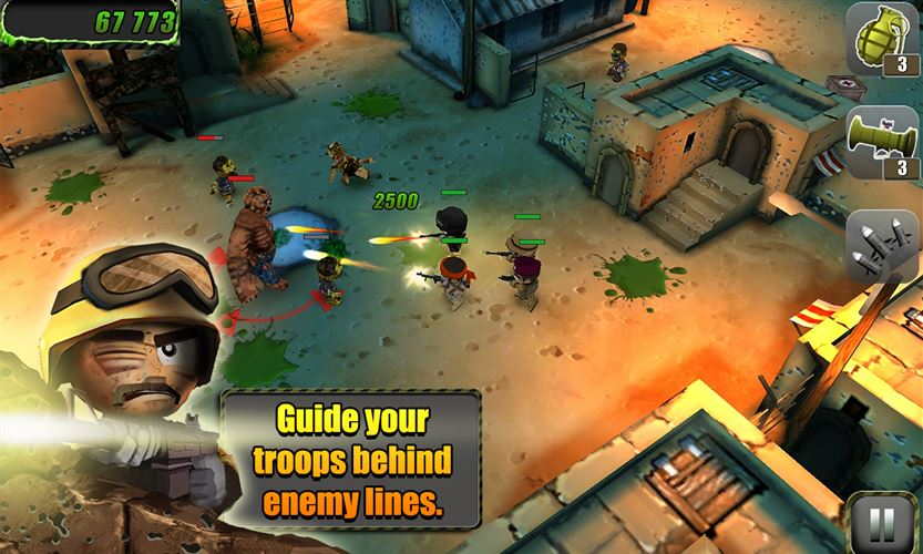 Tiny Troopers Screenshot