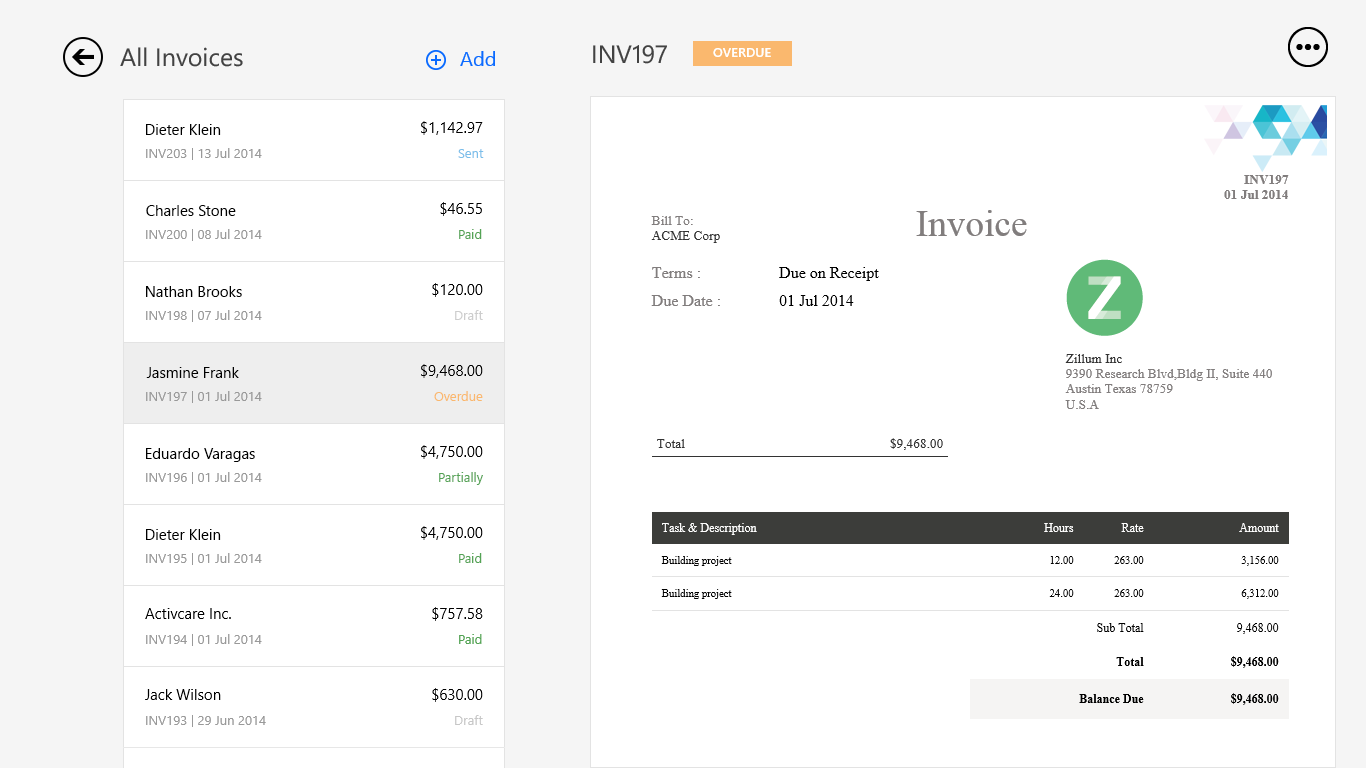 Buy Zoho Invoice - Microsoft Store
