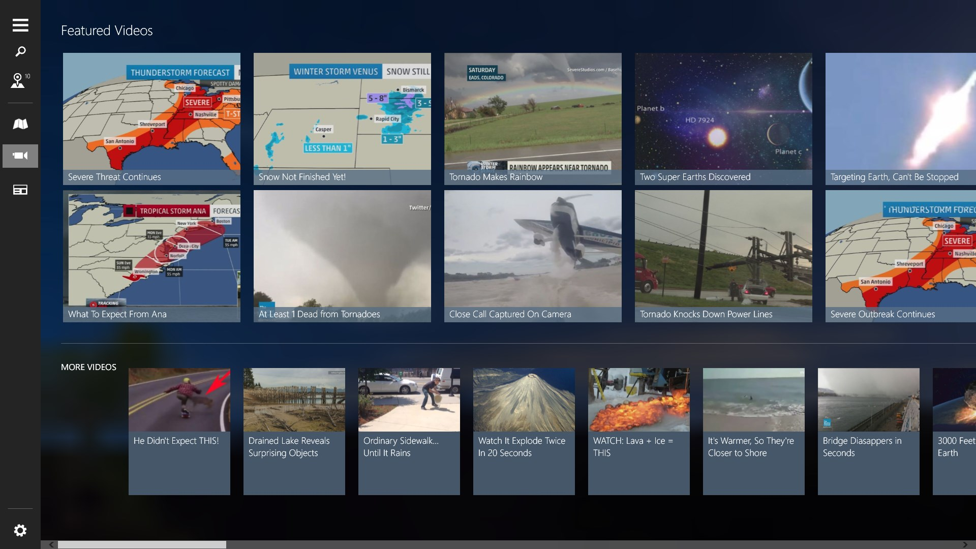 The Weather Channel for HP