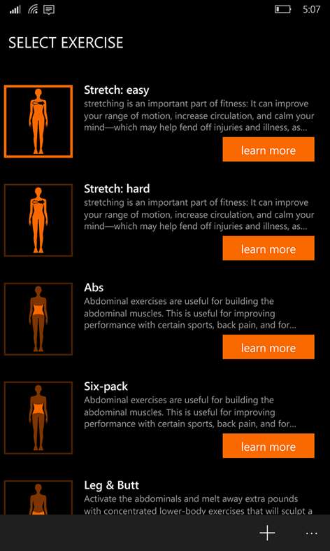 Get perfect workout microsoft store screenshot fandeluxe Image collections