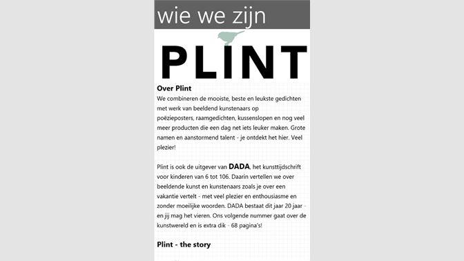 Get Plint Brochure Microsoft Store