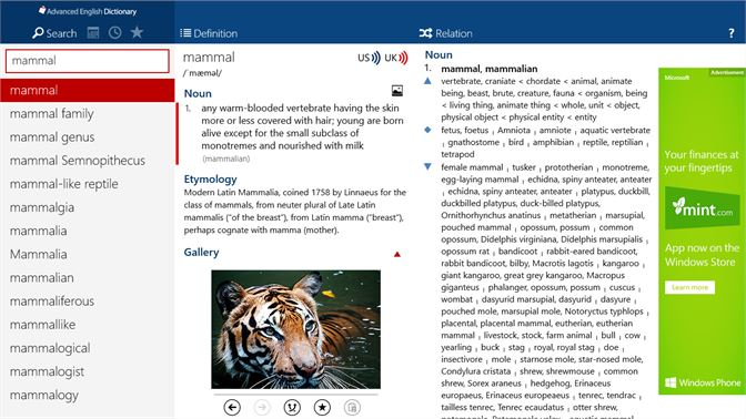 Get Advanced English Dictionary - Microsoft Store