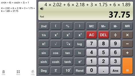 Calculator One Screenshots 2
