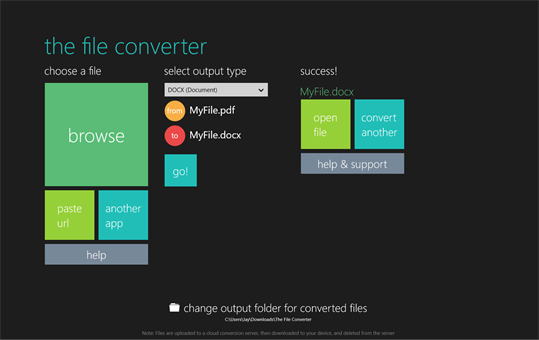 The File Converter screenshot 4