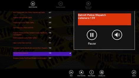 Radio 911 Police Scanner Radio Screenshots 1