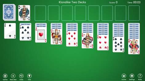 get klondike solitaire collection free microsoft store. Black Bedroom Furniture Sets. Home Design Ideas