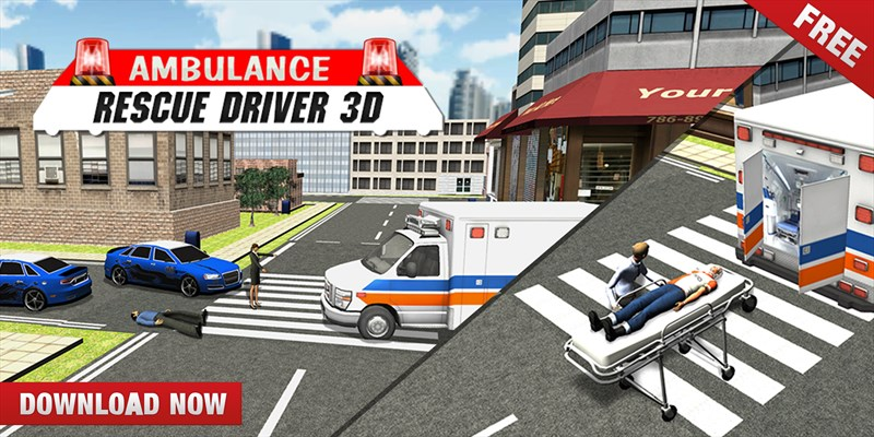 Get Ambulance Rescue Driver 3D - Patients to Hospital - Microsoft Store