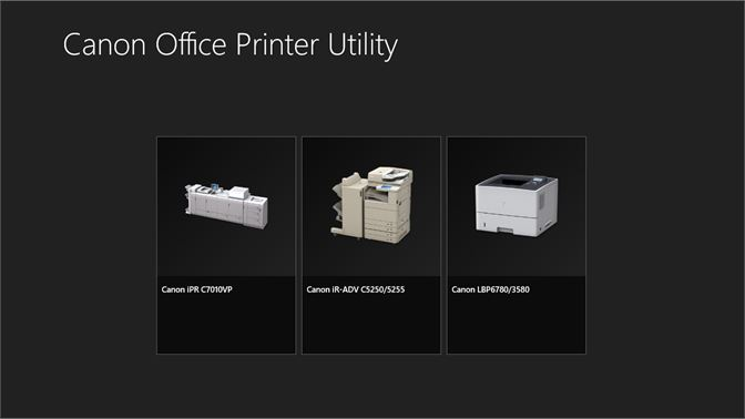 Get Canon Office Printer Utility - Microsoft Store