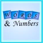 Words & Numbers