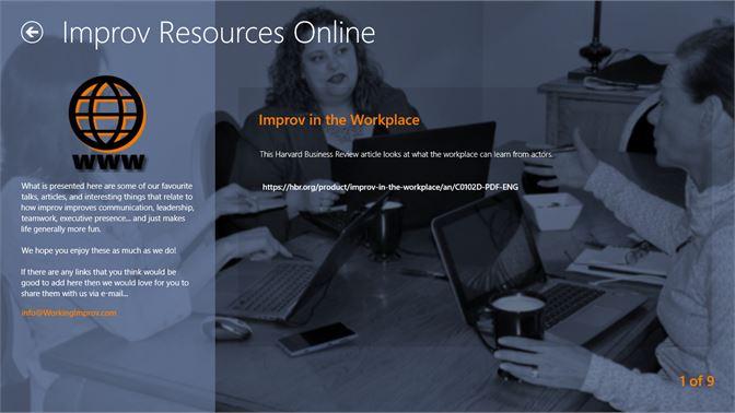 Get WorkingImprov - Microsoft Store