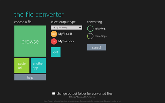 The File Converter screenshot 3