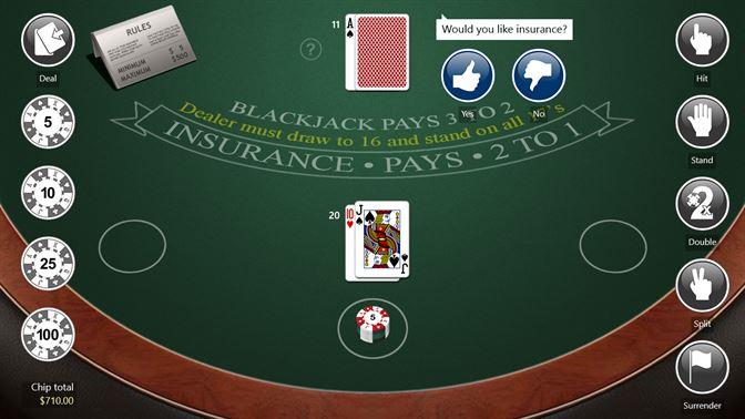 Email setup on blackjack