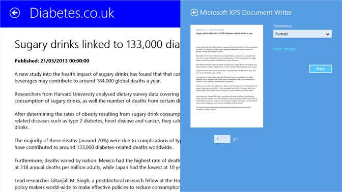 Get Diabetes News - Microsoft Store