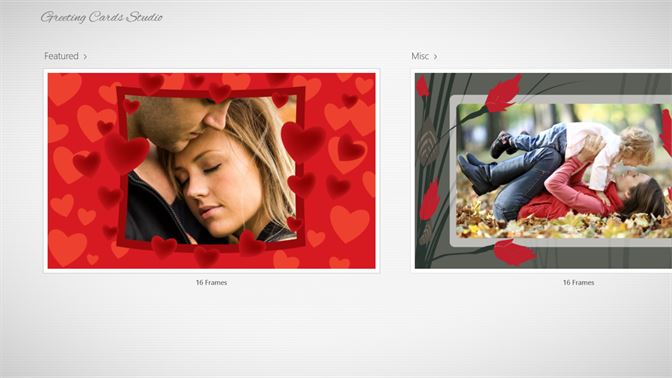 Get greeting cards studio microsoft store select from a variety of frames m4hsunfo