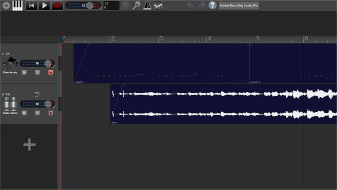 Estudio de grabación. Pistas.