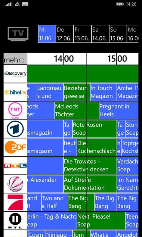 E Tv Programm