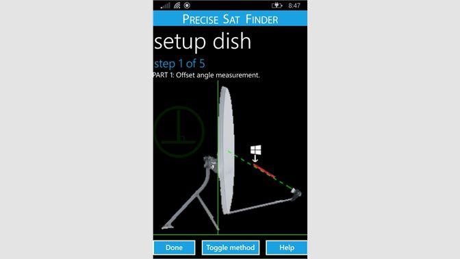 Get Precise Sat Finder - Microsoft Store