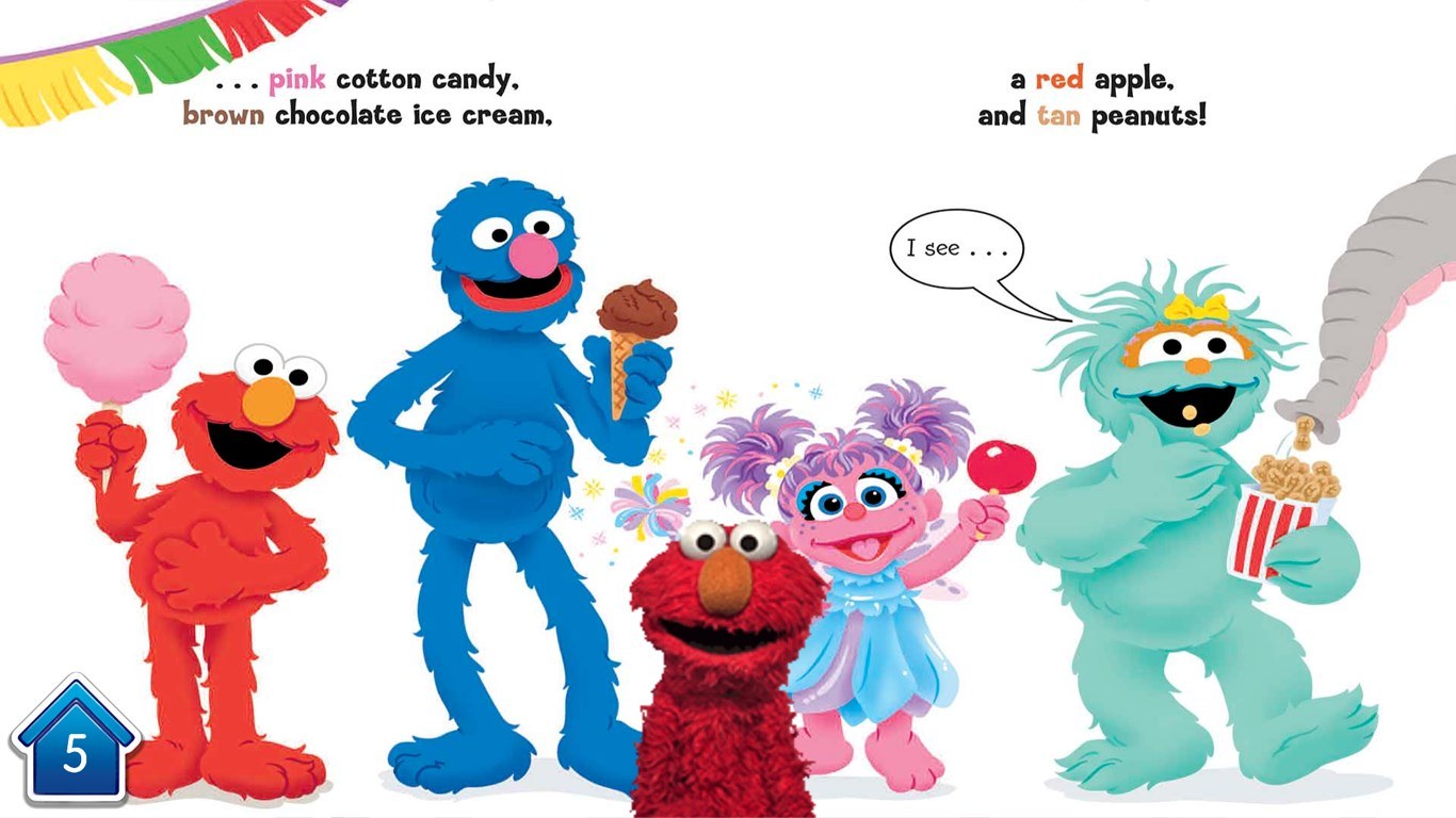 Color Carnival (Sesame Street Series) for Windows 10