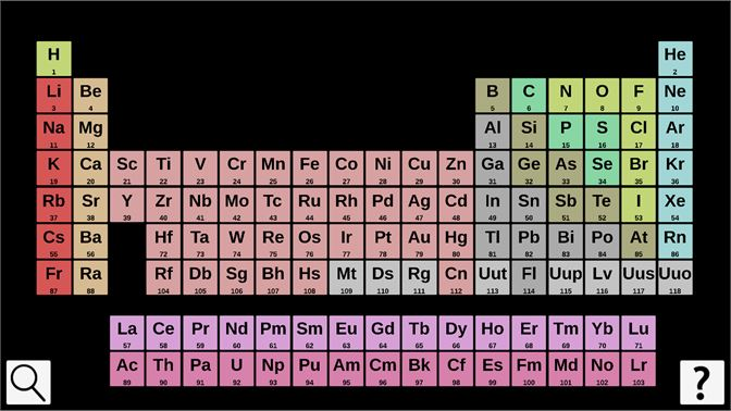 Buy periodic table 3d microsoft store screenshot click on the element names to see more details urtaz Gallery