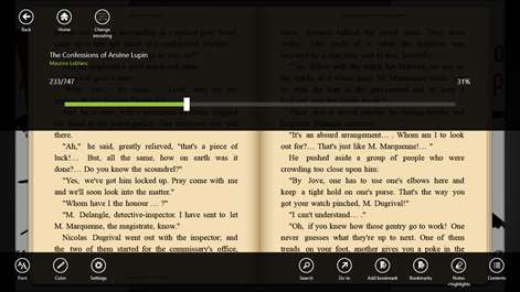 Get bookviser reader microsoft store screenshot in book controls fandeluxe Images