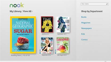 NOOK – Books, Magazines, Newspapers, Comics Screenshots 1