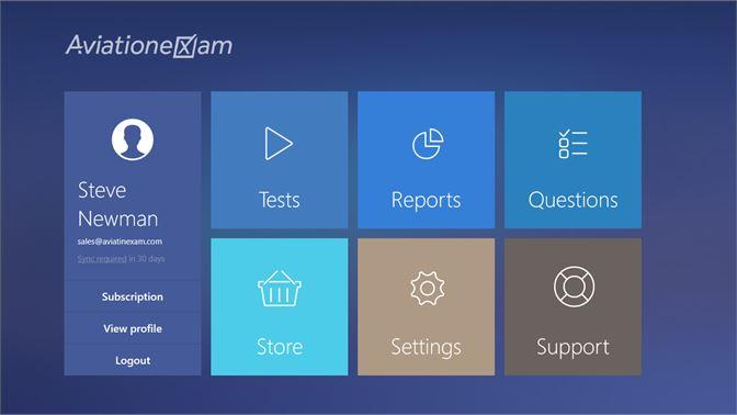 Get Aviation Exam - Microsoft Store