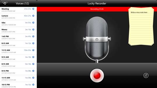 Lucky Recorder screenshot 4
