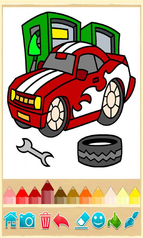 Get Coloring Book Cars Pages