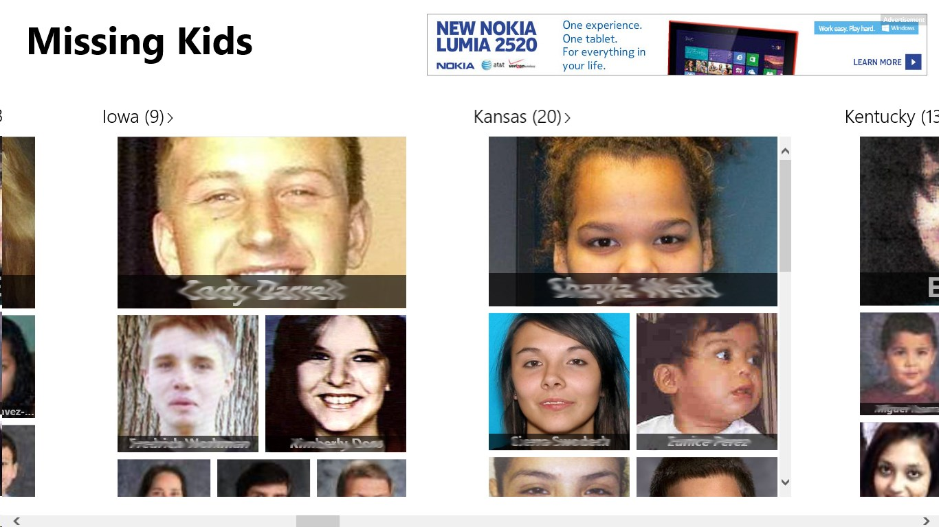 recent missing kids - HD 1366×768