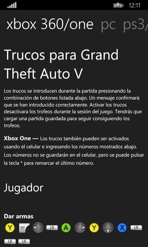 Claves Para Fuse Xbox 360 : Trucos coches gta xbox coche