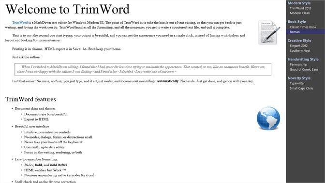 Get TrimWord - Microsoft Store