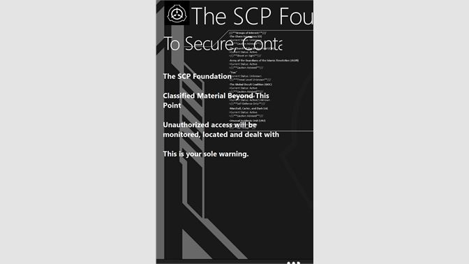 Buy The SCP Foundation - Microsoft Store