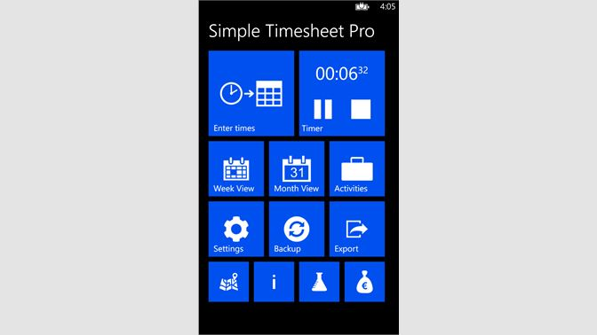 get simple timesheet microsoft store