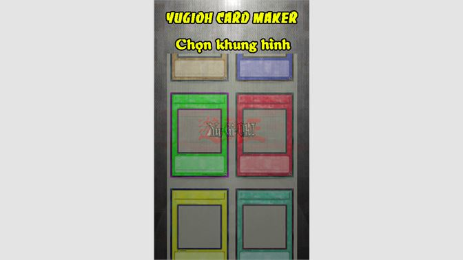 Get Yugioh Card Maker - Microsoft Store
