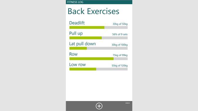 Get Fitness Log - Microsoft Store