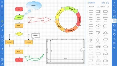 Buy Grapholite - Diagrams, Flow Charts and Floor Plans Designer ...