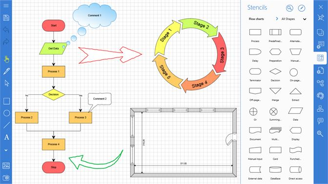 Buy grapholite diagrams flow charts and floor plans designer screenshot diagrams designer ccuart Images
